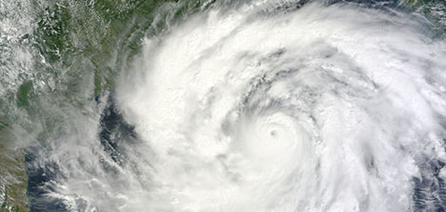 Cyclone Phailin devastated India's eastern coast of Odisha and some parts of Andhra Pradesh.
