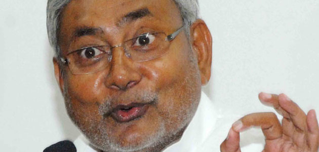 Bihar CM Nitish Kumar declared in Mumbai that the Modi bubble would burst soon.