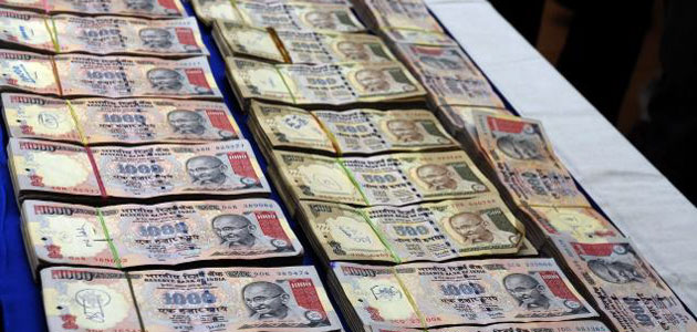 Black money mainly comes from India