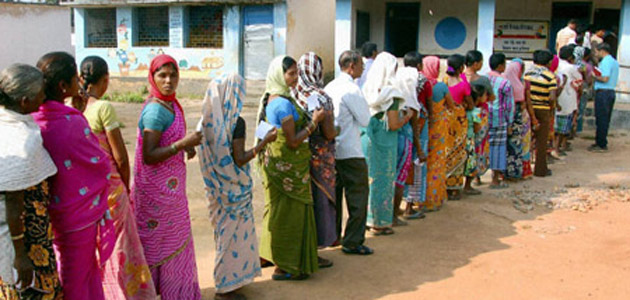 The first round of polling took place in 18 constituencies in Chhattisgarh on Monday.