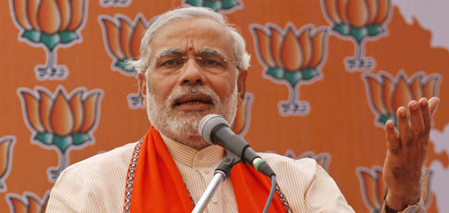 Election Commission slapped a notice on Narendra Modi on Wednesday.
