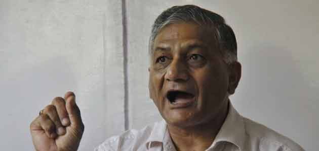 """Gen VK Singh says, """"some people think they are bigger than Anna."""""""