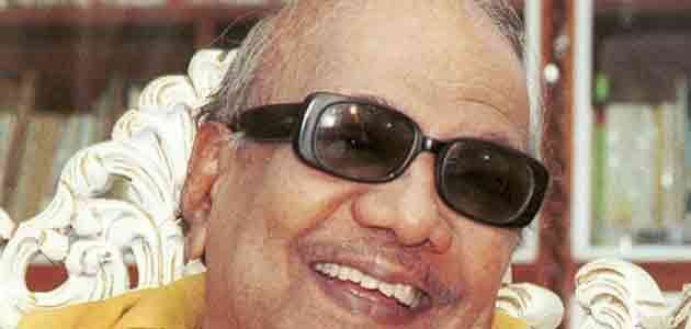 DMK chief M Karunanidhi describes Modi a hard worker and good friend.