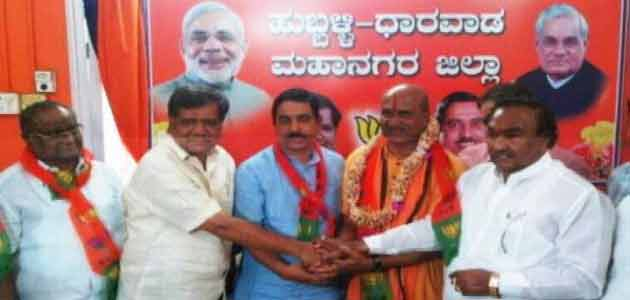Sri Ram Sene chief Pramod Muthalik joined the BJP in Karnataka on Sunday.