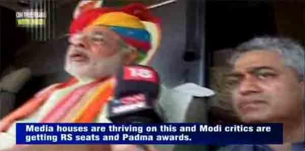 Senior journalist Rajdeep Sardesai talks to Narendra Modi over a range of issues.