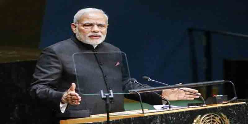 Narendra Modi's UN speech, which took a little more than 30 minutes, dwelt on the themes of terrorism, multilateralism and peace with Pakistan besides reforms in the UN.