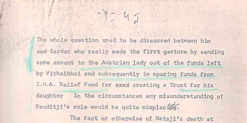 A PMO file on social media suggests Netaji was not killed in an air crash as propagated by successive governments.