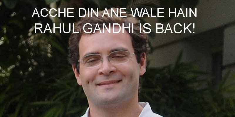Ending his 56-day mysterious leave, Rahul returned to Delhi on Thursday.