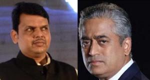 Rajdeep Sardesai and Devendra Fadnavis are engaged in a tug of war on good governance.
